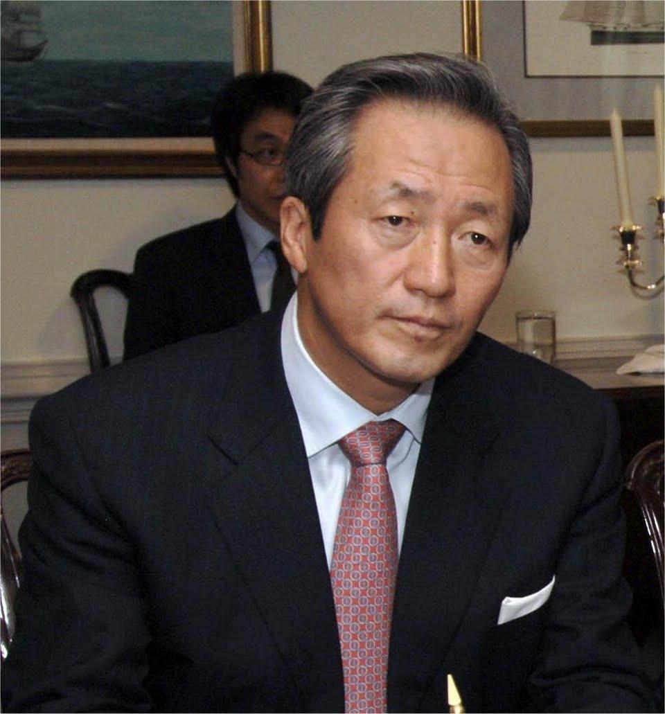 Chung Mong-Joon Net Worth
